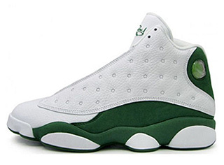 AIR JORDAN 13 RETRO ray allen pe white/clover