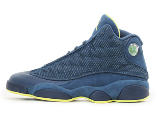 AIR JORDAN 13 RETRO squadron squadron blue/ electric yellow - black