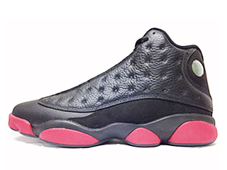 AIR JORDAN 13 RETRO dirty bred black/gym red-black