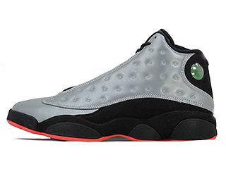 AIR JORDAN 13 RETRO PRM INFRARED 23 reflect silver/infrrd 23-blk