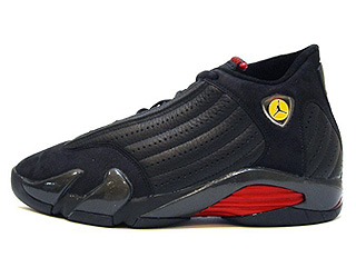 AIR JORDAN 14 (OG) lastshot black/black-varsity red