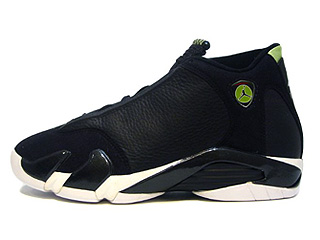 AIR JORDAN 14 (OG) black/black-white-indiglo