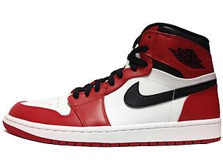AIR JORDAN 1 RETRO HIGH OG white/varsity red-black