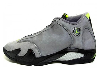 AIR JORDAN 14 RETRO light graphite/chartuese
