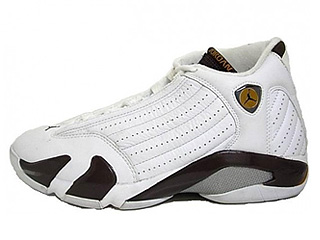 AIR JORDAN 14 RETRO white/dark cinder-chutney