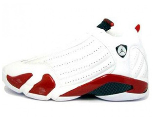AIR JORDAN 14 RETRO white/black-var red