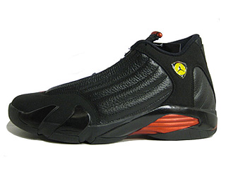 AIR JORDAN 14 RETRO lastshot black/varsity red-black