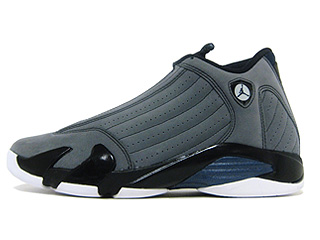 AIR JORDAN 14 RETRO lt graphite/mid navy-black-white