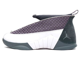 AIR JORDAN 15 (OG) flint grey/white