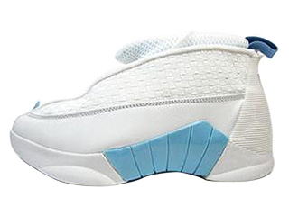 AIR JORDAN 15 (OG) white/columbia blue-blk