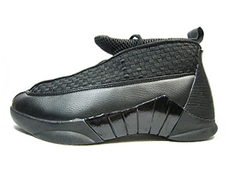 AIR JORDAN 15 RETRO black/varsity red
