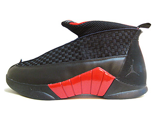 JORDAN COLLEZIONE 15/8 countdown pack black/red