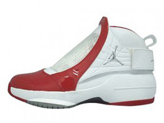 AIR JORDAN 19 midwest white/varsity red