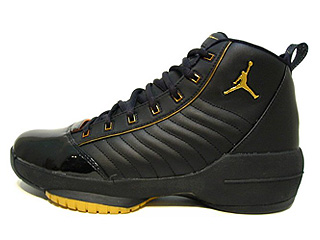 AIR JORDAN 19 SE black/metallic gold