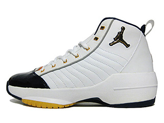 AIR JORDAN 19 SE white/metallic gold-midnight navy