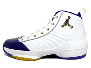 AIR JORDAN 19 SE westcoast white/metallic gold-varsity purple