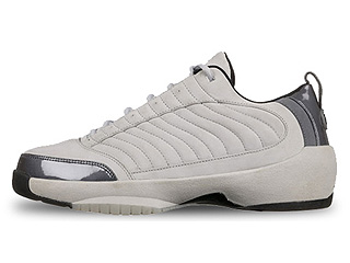 AIR JORDAN 19 LOW neutral grey/black-light graphite