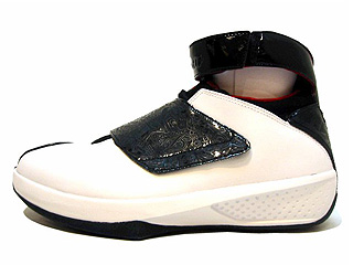 AIR JORDAN 20 quickstrike white/black-varsity red