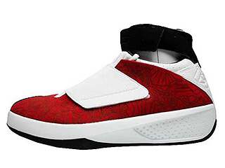 AIR JORDAN 20 midwest varsity red-white-black