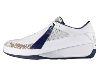AIR JORDAN 20 LOW white/midnight navy-neutral grey