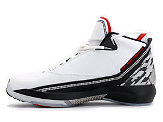 AIR JORDAN 22 white/metallic silver-varsity red