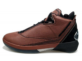 AIR JORDAN 22 basketball leather black/black