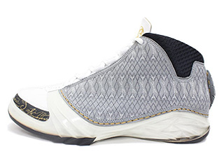 AIR JORDAN 23 white/stealth-black-metallic gold
