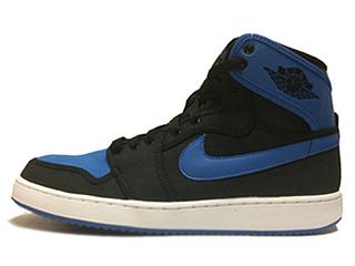 AJ1 KO HIGH black/black-sport blue
