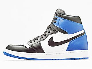 AIR JORDAN 1 X FRAGMENT FRAGMENT black/sport royal-white