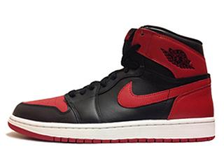 AIR JORDAN 1 RETRO HIGH OG BRED black/varisty red-white