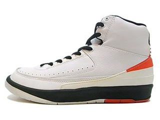 NIKE AIR JORDAN 2 HI 95 RETRO 1995 white/red/black