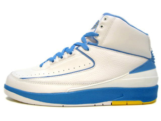 AIR JORDAN 2 RETRO carmelo anthony white/university blue-v maze