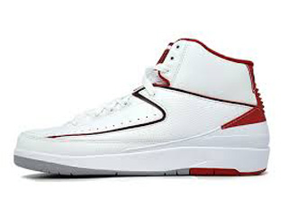 JORDAN COLLEZIONE 21/2 AIR JORDAN 2 countdown pack split white/red-grey