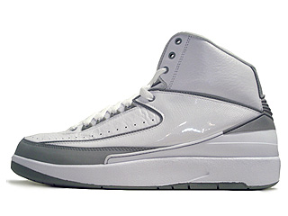 AIR JORDAN 2 RETRO 25th anniversary white/metallic silver-ntrl gry