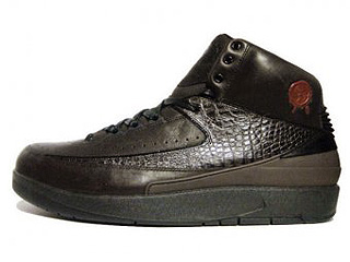 AIR JORDAN 2 RETRO PREMIO bin23 dark cinder/black