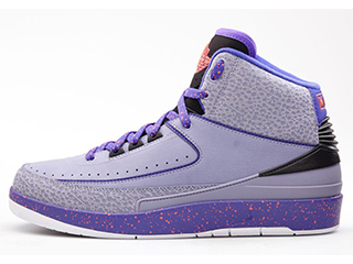 AIR JORDAN 2 RETRO IRON PURPLE violet/ rosien - concor - noir