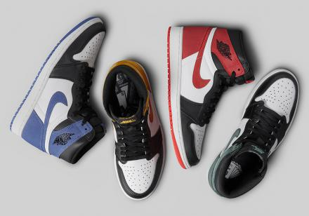 NIKE AIR JORDAN I BEST HAND IN THE GAME COLLECTION