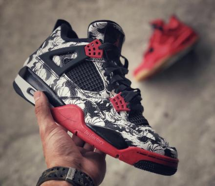 "NIKE AIR JORDAN 4 RETRO ""BASKETBALL"""